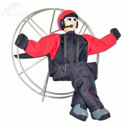 RC motorová krosna – pilot 2
