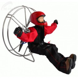 RC motorová krosna – pilot 1